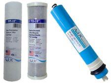 Filter Replacement Set (50GPD, PP, CTO) Reverse Osmosis, Aquarium Water Filters