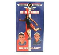 Soccer Secrets & Fitness (VHS) lot of 3 MIA HAMM Tiffeny Milbrett (Brand New)