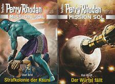 8 x HEFT - PERRY RHODAN - MISSION SOL Teile 5-12 - NEU