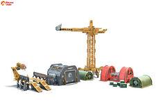 Wargaming terrain: Industrial Zone - 28mm (1:35) Warhammer miniature scenery set