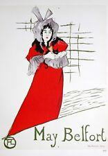 Henri Toulouse-Lautrec Lithograph May Belfort Mourlot 1967