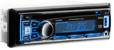 BOSS 742RGB CAR CD/AM/FM RADIO PLAYER AUX SD USB RECEIVER COLOR CHANGING FACE