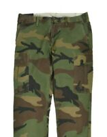 Men Polo Ralph Lauren Stretch Slim Fit Military Army Camouflage Cargo Camo Pants