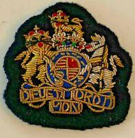 British Royal Navy Warrant Officer Bullion Embroidered Dress Sleeve Rank Badge
