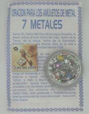 Oracion para los Amuletos de Metal (7 Metales) - Amulet   Pendant