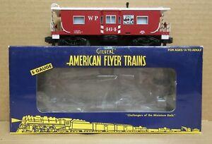 American Flyer 6-48754 Western Pacific Bay Window Caboose S-Gauge C-7