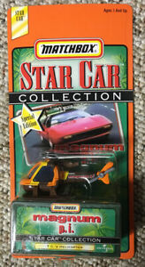 NIB 1998 MATCHBOX STAR CAR COLLECTION MAGNUM PI TCs HELICOPTER
