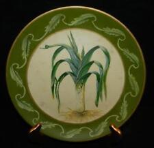 "Beautiful TOYO Decorative Leek Vegetable Design 10-1/4"" Plate"