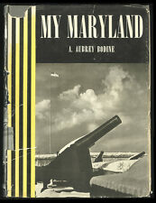 1952 Photography Book My Maryland, A. Aubrey Bodine, Signed by Photographer