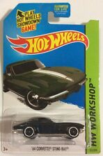 Hot Wheels 2015 '64 Corvette Sting Ray Kmart Exclusive Green - Fast Shipping