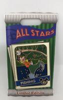 Disney Pin Goofy Fishing All-Stars Pin New Trading Cards Limited Edition Pin