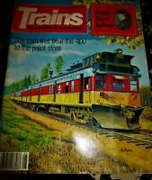 Trains Magazine August 1984 Issue