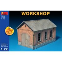 1:72 Multicoloured Workshop Kit - Miniart 172 Min72022 Multi Coloured Scale