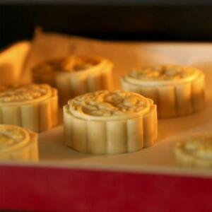 150g Moon Cake Mold Stamp Cookies DIY Stamps Mould Hand Press Flower Baking Tool