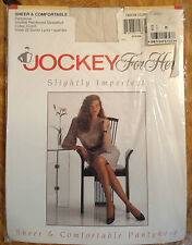 Vintage JOCKEY For Her Sheer and Comfortable Pantyhose Size Medium Ivory