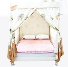 Framed King Cartoon Floor Type Dust Prevention Bed Canopy Mosquito Net Bed