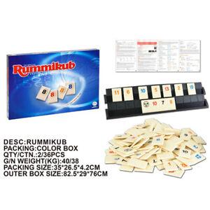 Rummikub Original Tile Game Board strategy Kids Family Party Travel Gift OZ