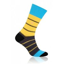 FRIDAY Mens Coloured Cotton Rich Socks, Colourful Socks, Fun Socks