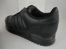 eaa85dff8 adidas ZX 700 Black Leather Originals S80528 Mens Retro Running 13