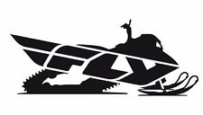 "FLY STICKER SNOWMOBILE SLED BRAAP GARAGE WINDSHIELD TRAILER DECAL 45""X18"""