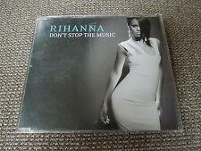 Rihanna Don't Stop The Music RARE CD Single