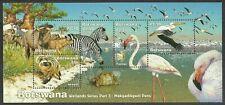 More details for botswana 2000 - 2009 wetlands birds wildlife flamingo owl various sets mnh