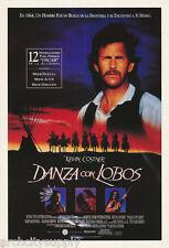 POSTER:MOVIE REPRO: DANZA con LOBOS - DANCES WITH WOLVES -  #6297  RW24 H