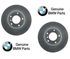 BMW E46 3 Series Pair Set of Front Left and Right Vented Disc Brake Rotors OES