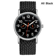 Wal-Joy Men Fashion Watch Sports  (WJ-8004)- ALL BLACK