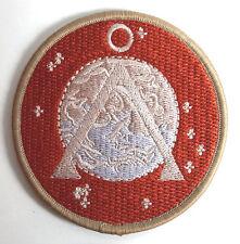 "Stargate Earth Icon Desert Camo Logo 3"" Uniform Patch- Free S&H (Sgpa-03-Dc)"