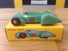 DINKY TOYS ATLAS AUTO-UNION VOITURE DES RECORDS VERTE 1/43 REF 23D IN BOX
