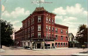 Postcard The Braun House in Muncie, Indiana~3141