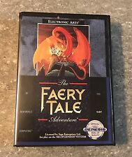 Rare *Great Condition* CIB Faery Tale Adventure (Sega Genesis, 1991) Video Games