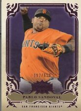 Pablo Sandoval 2013 Triple Threads Purple SP 192/650