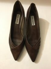 steve madden sirina Pointed leather Pumps  Size 8.5 Brown