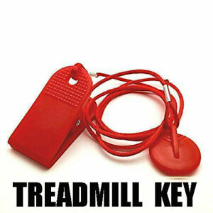 Universal Running Machine Safety Key Treadmill Magnetic Security Switch Lock Key