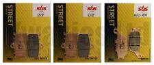 SBS Evo-Sinter Front Rear Brake Pads for Suzuki GSX1250F GSX1250 2010-2016