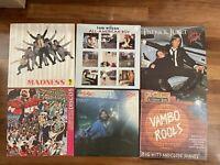 Svendo!! Incredibile Lotto 69 dischi in vinile LP pop e rock mix 33 e 45 giri!