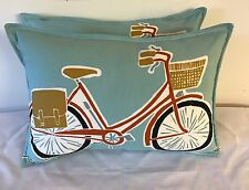 FABULOUS CUSHION COVER IN HARLEQUIN SCION CYKEL.