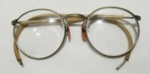 VINTAGE AO AMERICAN OPTICAL FUL-VUE SAFETY GLASSES! CLEAR LENSES! CABLE TEMPLES!