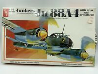 AMT Model Kit 1:48 Scale Junkers Ju 88A-4 WW2 Bomber Germany Luftwaffe