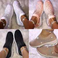 Womens Sneakers Casual Flat Ankle Strap Shoes Woven Running Walking Sport Shoes