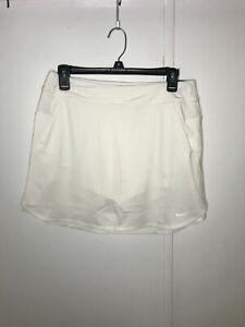 Nike Youth Girls Golf DriFit White Skirt AJ5287-100 Size XL