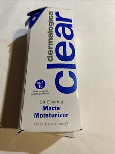 Dermalogica Oil Clearing Matte Moisturizer 2 fl oz. Exp 10/2020 New Opened Box