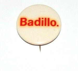 1969 HERMAN BADILLO NYC MAYORAL MAYOR campaign pin pinback political button