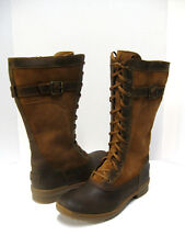 UGG BRYSTL WOMEN TALL BOOTS LEATHER/SUEDE CHESTNUT US 5 /UK 3 /EU 36 /JP 23
