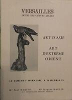 1981 Catálogo De Venta Demuestra Essex-Luz Art D Asia Extreme Orient