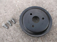 VAUXHALL ASTRA H MK5 1.4 TWINPORT WATER PUMP PULLEY & BOLTS Z14XEP 2004-2009