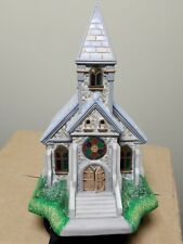New listing PartyLite The Church Olde World Village Collection Tea Light Candle Holder P7321