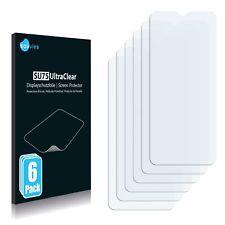 6x Displayschutzfolie für Motorola Moto G9 Play Klar Schutzfolie Displayfolie